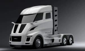 LKW mit Brennstoffzelle