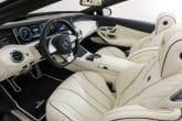 Mercedes S 65 Cabrio Innenraum Tuning