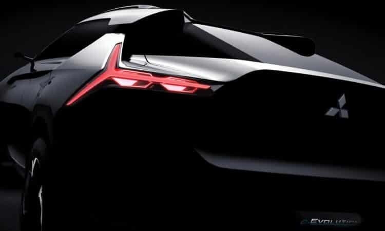 Mitsubishi e-EVOLUTION Concept Elektroauto