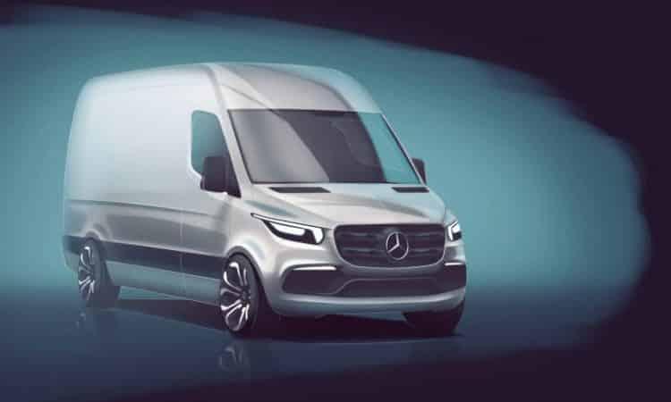 Neuer Mercedes Sprinter 2018