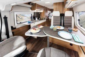 Reisemobile Kastenwagen Vantourer Innenraum