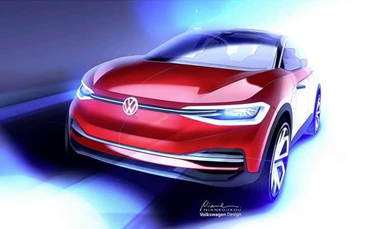 Konzeptauto VW I.D CROZZ