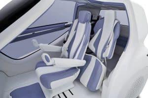 Auto für Rollstuhlfahrer Concept-i RIDE innen
