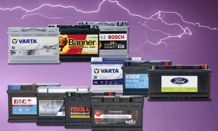 Autobatterie Test 2017