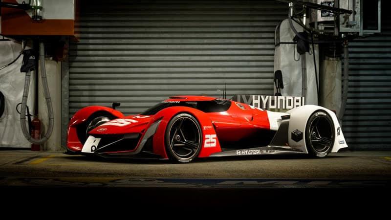 Gran Turismo Sport Brennstoffzellen Auto