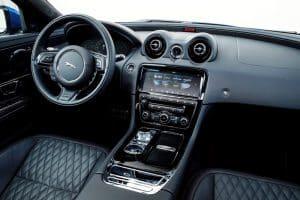 Jaguar XJR Probefahrt Innenraum