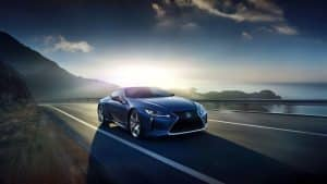 Lexus LC Limited Edition in Stratusblau
