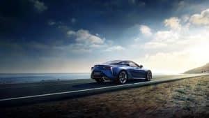 Lexus LC Limited Edition in Stratusblau
