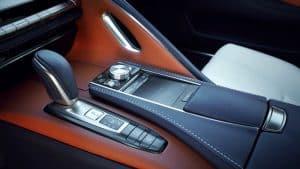 Lexus LC Limited Edition in Stratusblau Innenraum