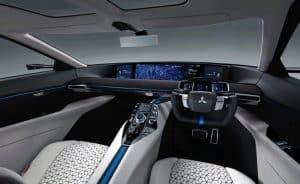 Mitsubishi e-EVO Concept Innenraum
