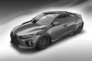 Sema Show 2017 Hyundai Konzeptauto