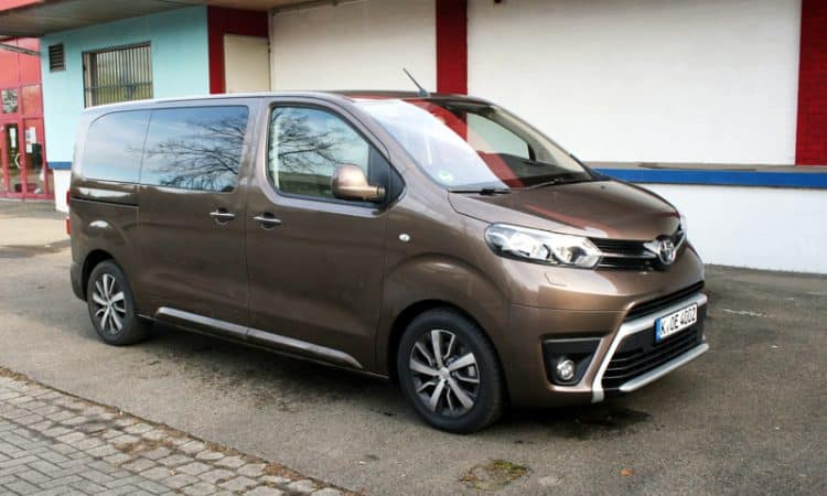 Toyota Proace Verso Family Test