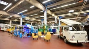 VW Bulli Ausstellung T2