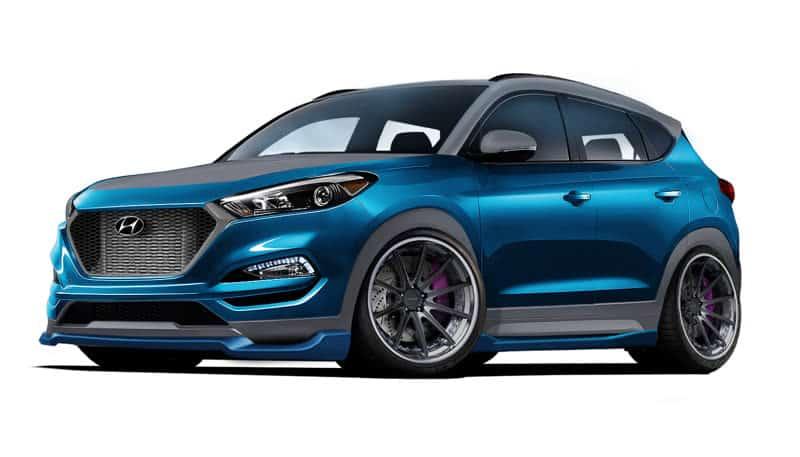 Hyundai Tucson Tuning