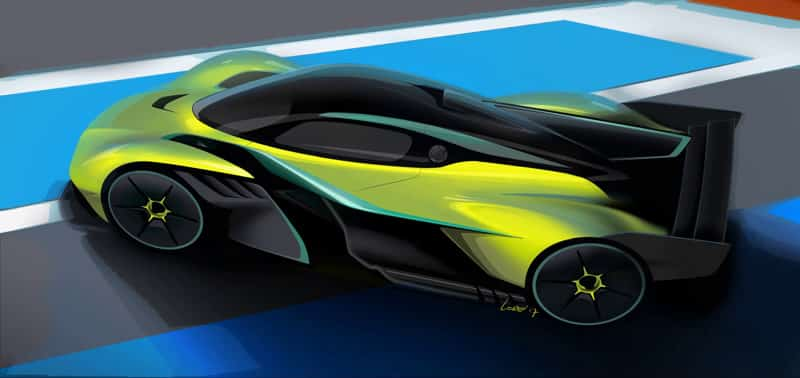 Rasierapparat Für Den Track Aston Martin Valkyrie Amr Pro Autodino