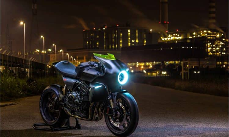 EICMA 2017: Honda CB4 Interceptor-Studie