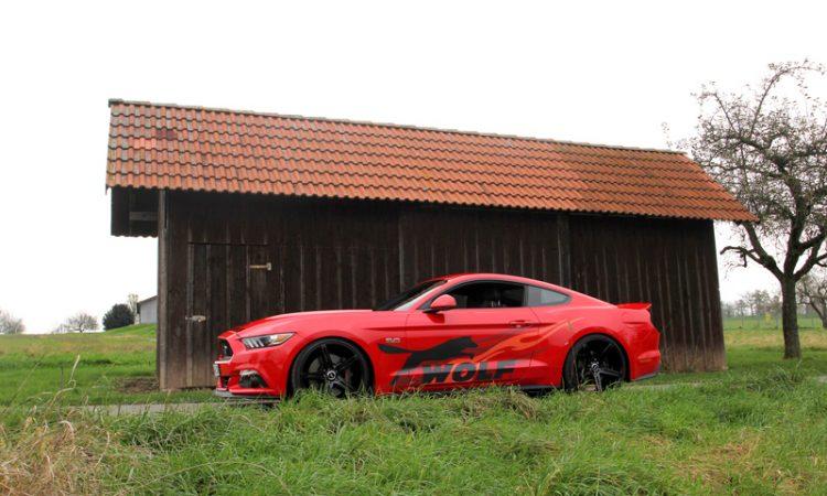 Ford Mustang V8 Kompressor Kit