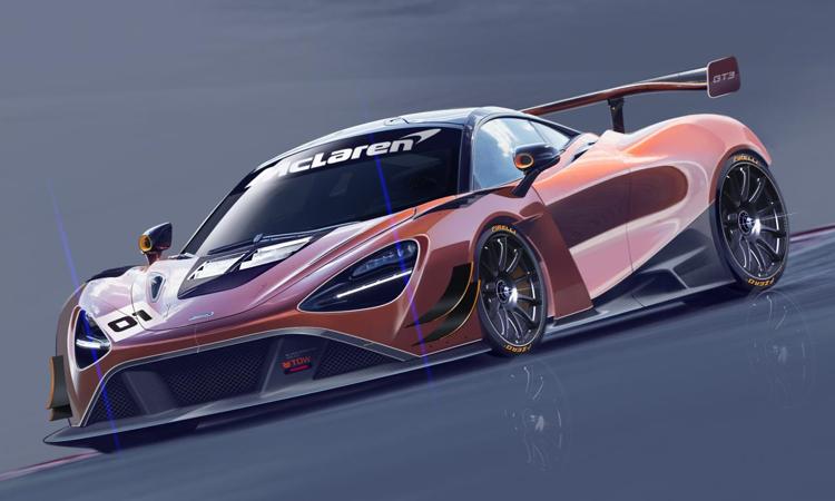 McLaren 720S GT3 Rennwagen