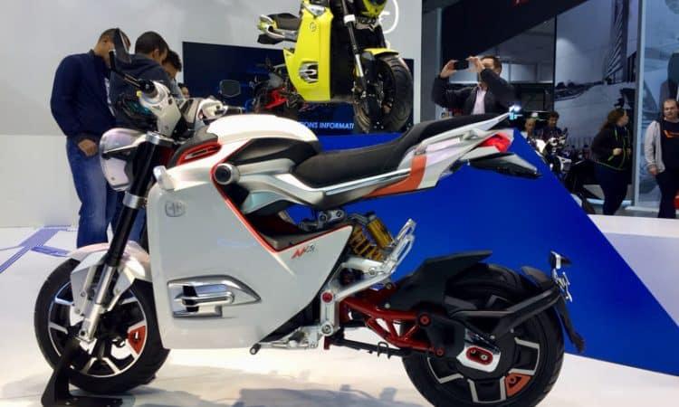 Motorräder mit Elektroantrieb
