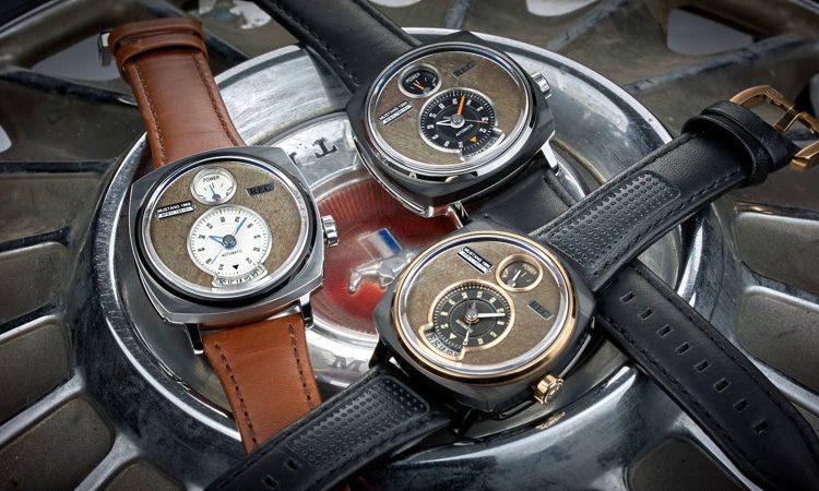 Armbanduhr aus Ford Mustang Teilen