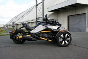 Can-Am Spyder F3-S Test