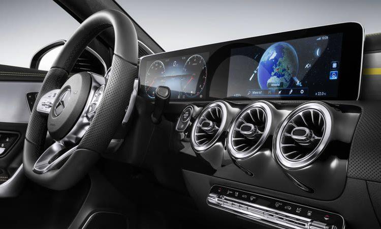 Mercedes-Benz MBUX Infotainment System