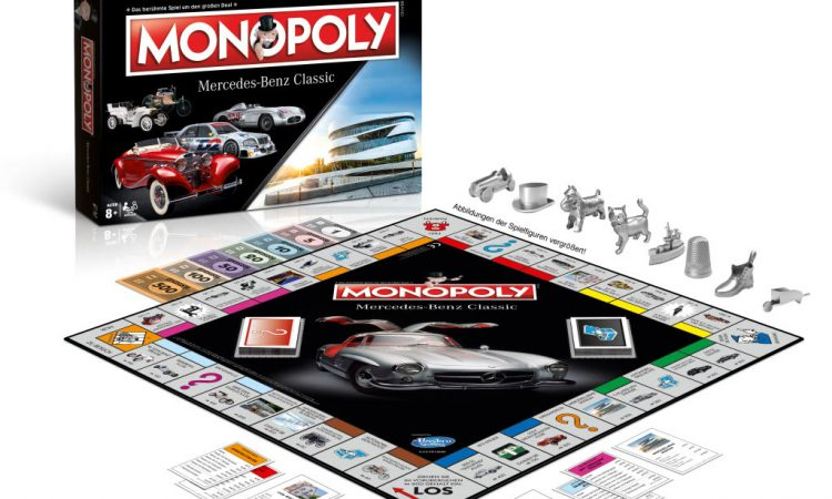Monopoly Mercedes-Benz Classic Edition