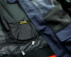 Motorradjacken mit Airbag
