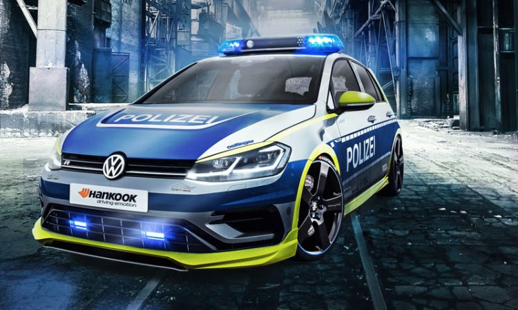Polizei VW Golf R
