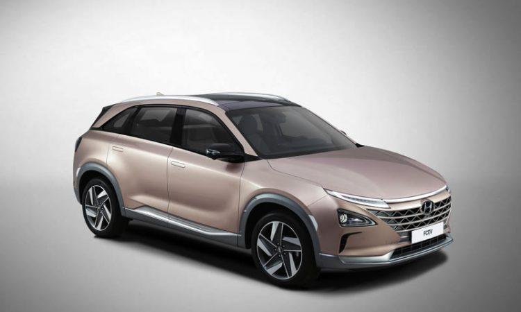 Hyundai Brennstoffzellen Auto FCEV