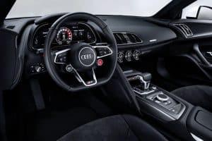 Audi R8 RWS Innenraum