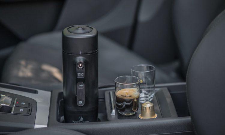 Espressomaschine fürs Auto