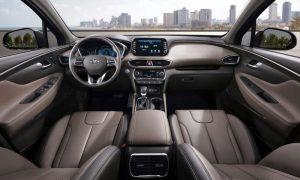 Hyundai Santa Fe 2018 Innenraum