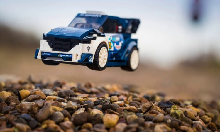 MUSTHAVE Ford Fiesta WRC Lego Modell