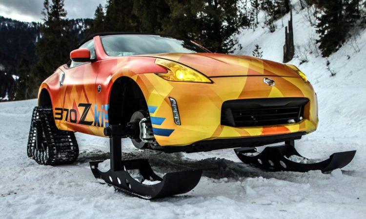 Nissan 370 Zki Snowmobil Umbau