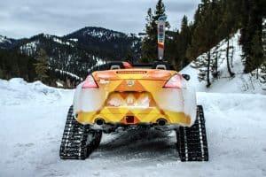Nissan 370 Zki Snowmobil Umbau 002