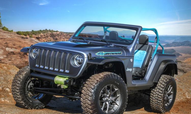 Jeep 4SPEED Concept Wrangler Umbauten