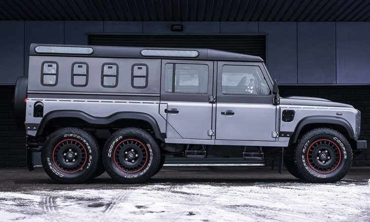 Land Rover Defender 6x6 Umbau