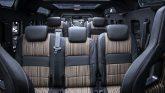 Land Rover Defender 6x6 Innenraum Umbau