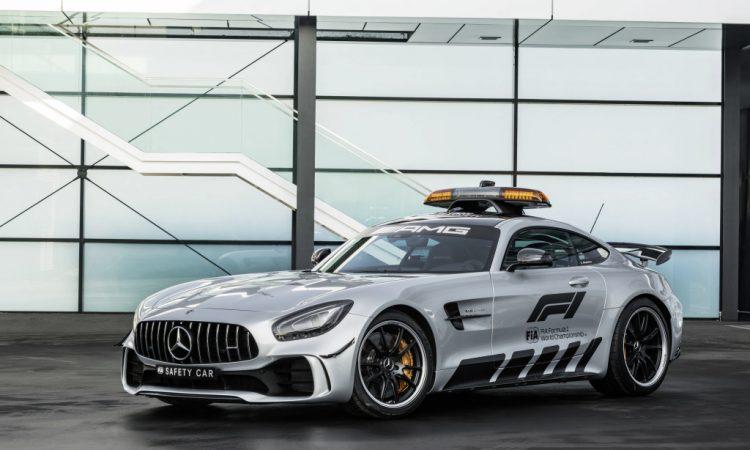 Mercedes AMG GT R Safety Car