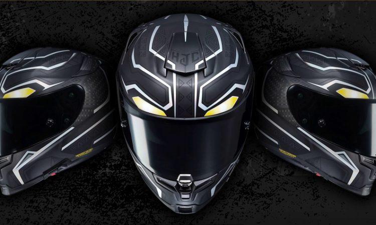 Motorradhelm HJC RPHA70 Black Panther