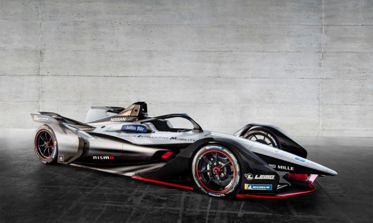 Nissan Formel E Rennwagen