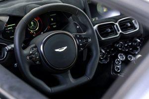 Aston Martin Vantage Test Innenraum
