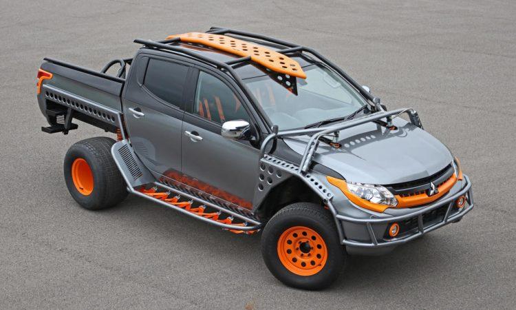 Mitsubishi L200 Extrem-Umbau