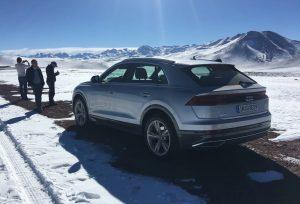 Audi Q8 Heck