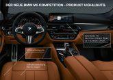 BMW M5 Competition Unterschiede zum M5
