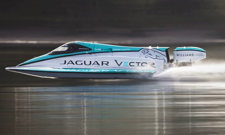 Jaguar Rennboot Jaguar Vector V20E