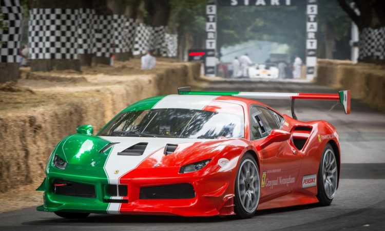 Ferrari Italien Farben