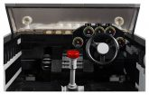 Lego Aston Martin DB 5 Innenraum