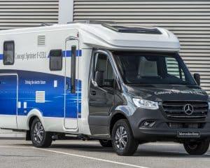 Wasserstoff Reisemobil Mercedes-Benz
